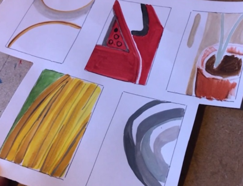 Learn How to Create Paintings using Shapes
