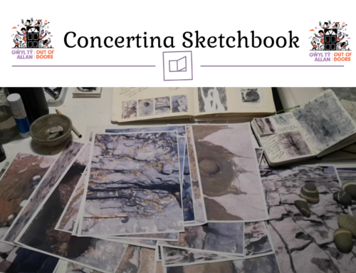 Concertina Sketchbook