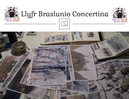 Llyfr Braslunio Concertina