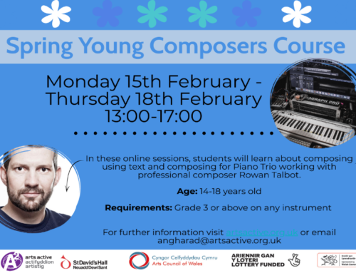 Spring Young Composers: Online Course