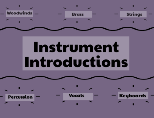 Instrument Introductions