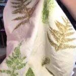Learn how to create leaf printing