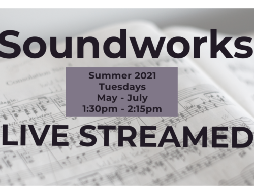 Soundworks sessions to be LIVE STREAMED this Summer