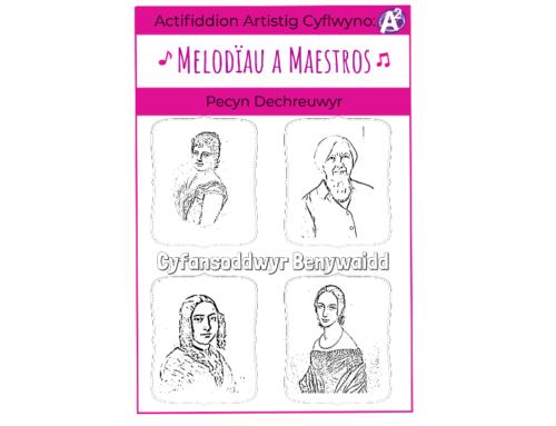 Melodies & Maestros Cyfansoddwyr Benywaidd